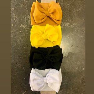 Other - NB-3mo -   4pk baby girl nylon headbands